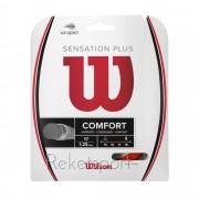 Wilson Sensation Plus 17/1,28 12m Punane